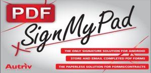 Digitaal je handtekening zetten met SignMyPad