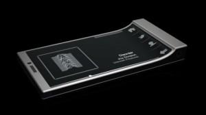 Opvallende Glance concept-telefoon past wel in je broekzak