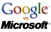 Google beschuldigt Microsoft en Apple van vijandige samenwerking