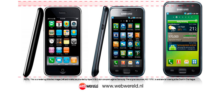 iPhone 3G vs Samsung Galaxy S