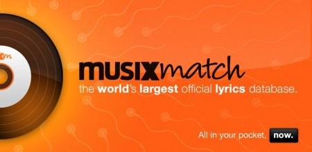 Handig songteksten opzoeken met musiXmatch