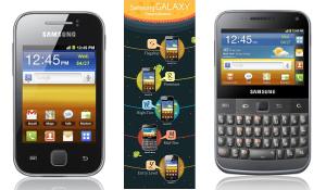 Samsung kondigt vier nieuwe Android-telefoons aan