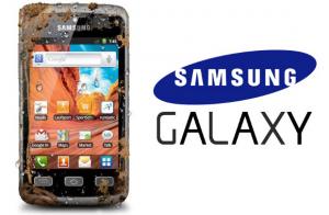 Samsung Galaxy Xcover: Android-telefoon die tegen een stootje kan