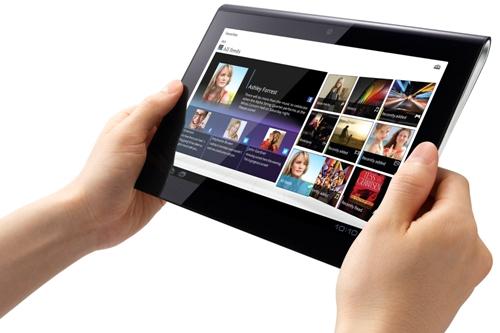 Sony S1 Android-tablet gaat Tablet S heten en is in september beschikbaar