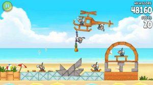 Angry Birds Rio krijgt vijftien nieuwe levels met Airfield Chase-update
