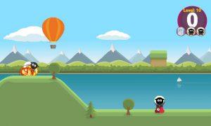 Sheep Impact: schapen vangen met een luchtballon