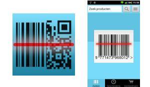 StreepjescodeScanner 2.0 werkt nu ook met QR-codes