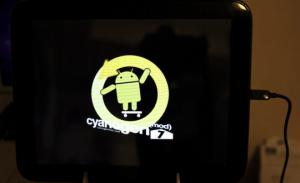 CyanogenMod 7 werkend op de HP TouchPad