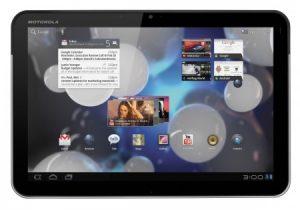 Android 3.1 update voor Motorola Xoom nu ook in Nederland beschikbaar