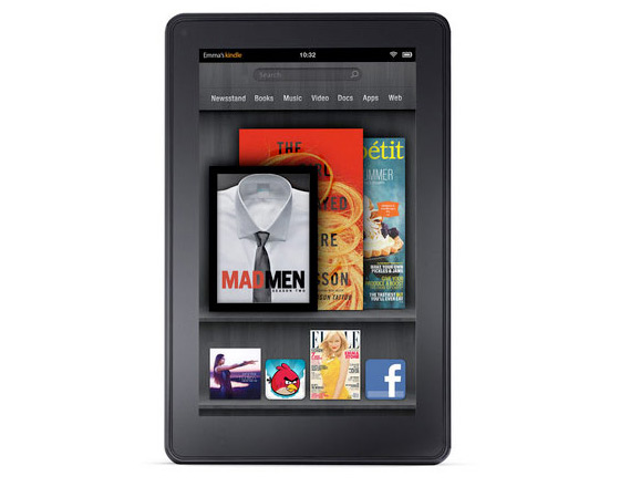 Amazon presenteert 7 inch Android-tablet Kindle Fire en nieuwe Kindle eReaders