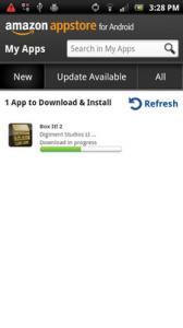Downloaden in de Amazon App Store