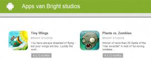 'Ontwikkelaar' Bright Studios biedt nepspellen aan in Android Market