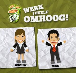 Cup-A-Soup - Werk Jezelf Omhoog