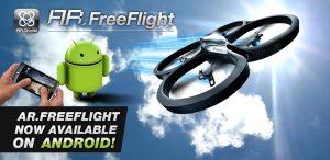 Parrot brengt Android-app en SDK uit voor AR.Drone quadricopter