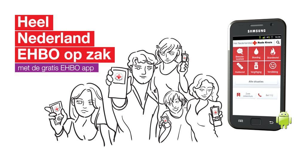 Rode Kruis brengt EHBO-app uit voor eerste hulp bij noodsituaties