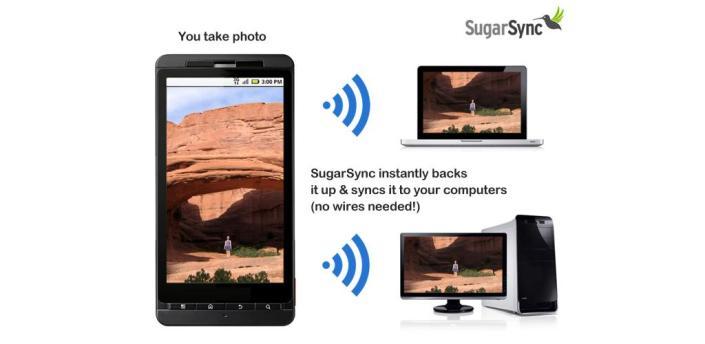 SugarSync voor Android beter online te beheren