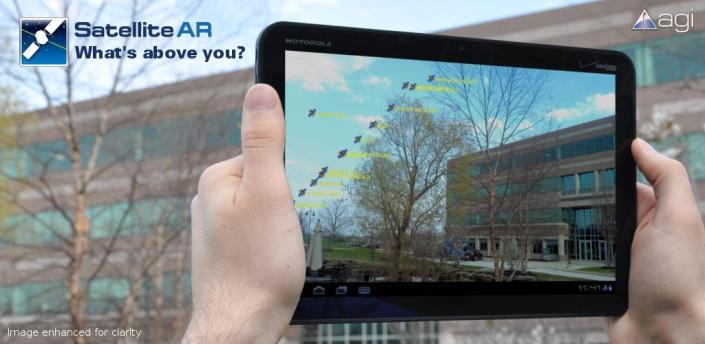 Zie welke satellieten boven je vliegen met Satellite AR