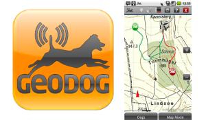 Track je hond met Geodog
