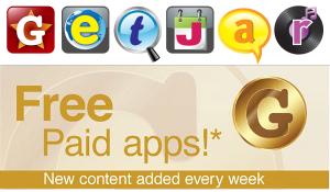 GetJar Gold biedt populaire Android-apps gratis aan