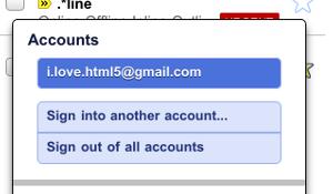 Inloggen via mobiele site Gmail nu mogelijk met meerder accounts