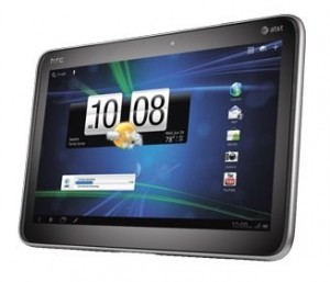 HTC Jetstream: 10.1 inch Android-tablet met 1.5 GHz dual-core processor