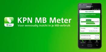 KPN brengt KPN MB Meter voor Android uit om dataverkeer te meten