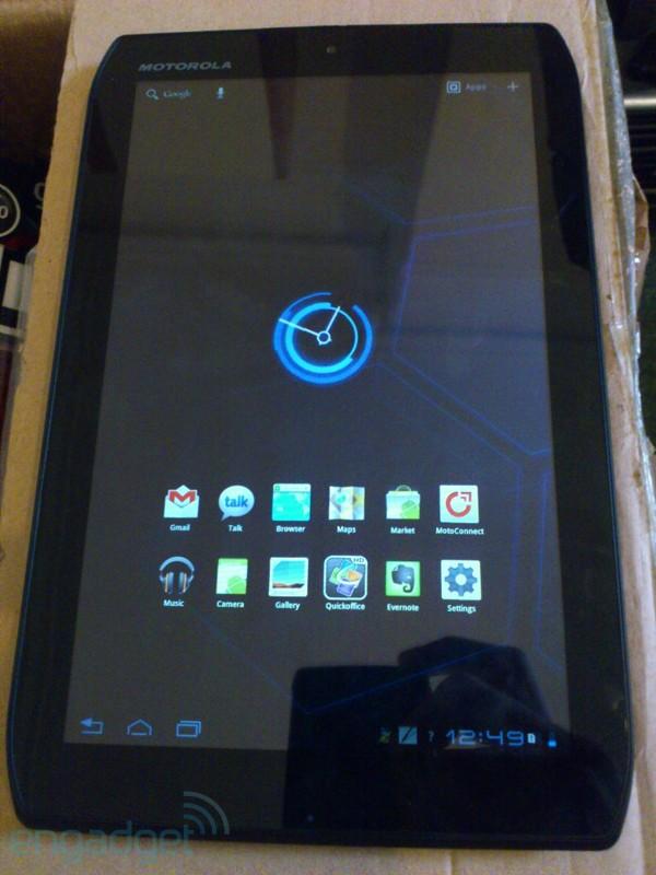 Motorola Xoom 2 8.2 inch variant