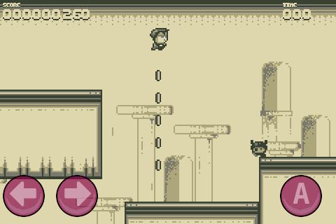Retro gamen met Mario-kloon Stardash