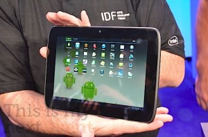 Intel Android-tablet