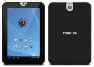 7 inch Android-tablet Toshiba Thrive aangekondigd