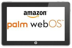 'Amazon wil webOS overnemen van HP'