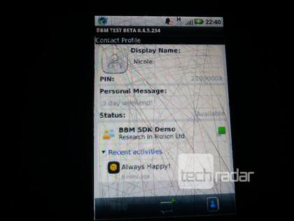 BBM voor Android (2)