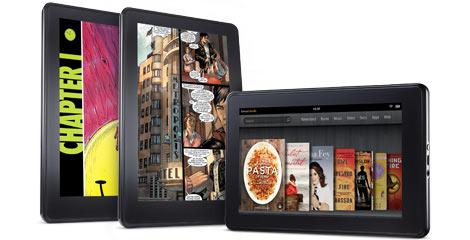 Amazon Kindle Fire ligt onder vuur vanwege patentschendingen
