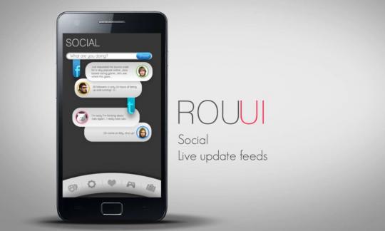 Eerste video ROU Launcher laat nieuwe gebruikerservaring voor Android zien