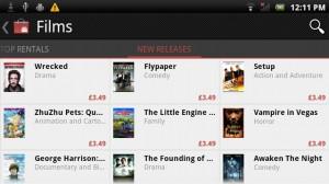 Films huren nu mogelijk in de Britse Android Market