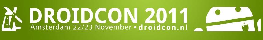 DroidconNL 2011 komt steeds dichterbij