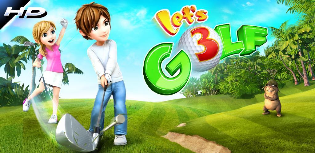 Let's Golf! 3 HD gratis te downloaden in de Android Market