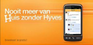 Hyves Android-app compleet vernieuwd