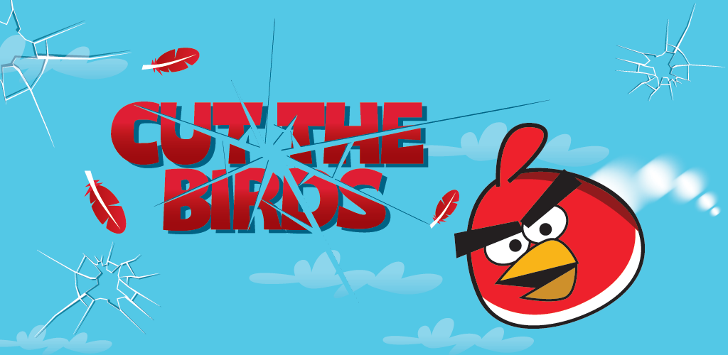 Cut the Birds: rare combinatie van Angry Birds en Fruit Ninja