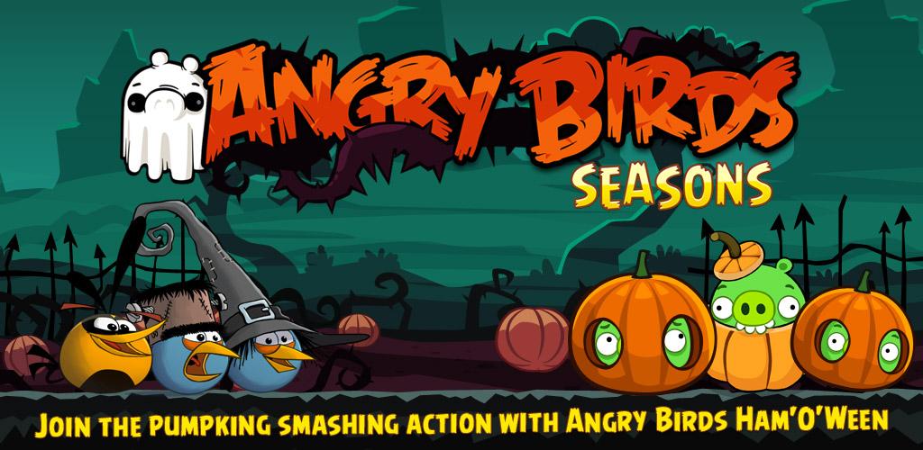 Angry Birds Seasons krijgt Halloween-update met nieuwe vogel