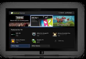 Google TV krijgt Android 3.1 met ondersteuning van apps en Android Market