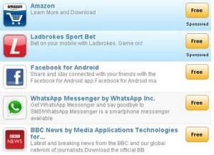 GetJar voegt beste 50.000 gratis apps van de Android Market toe