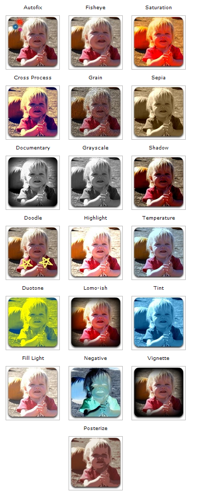 Ice Cream Sandwich Effecten Foto-editor