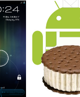 Screenshots Ice Cream Sandwich gelekt
