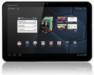 Motorola rolt Android 3.2 Honeycomb voor Europese Xoom Wi-Fi tablet uit
