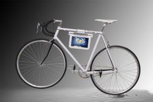 Samsung Galaxy fiets, nieuwe accessoire voor bij de Galaxy Tab