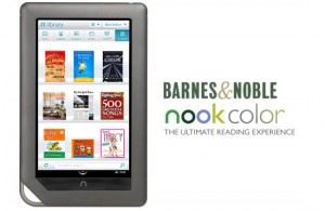 'Nook Color 2 vanaf 7 november te koop bij Barnes & Noble'
