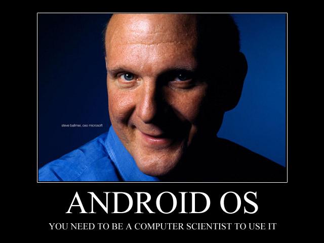 Microsoft-topman Steve Ballmer haalt hard uit naar Android