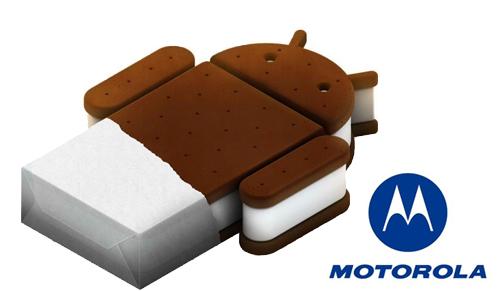 Motorola wil Ice Cream Sandwich update uitvoeren zes weken na Google