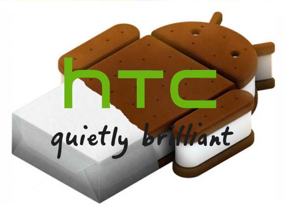 Lijst met HTC-apparaten gelekt die Ice Cream Sandwich update krijgen